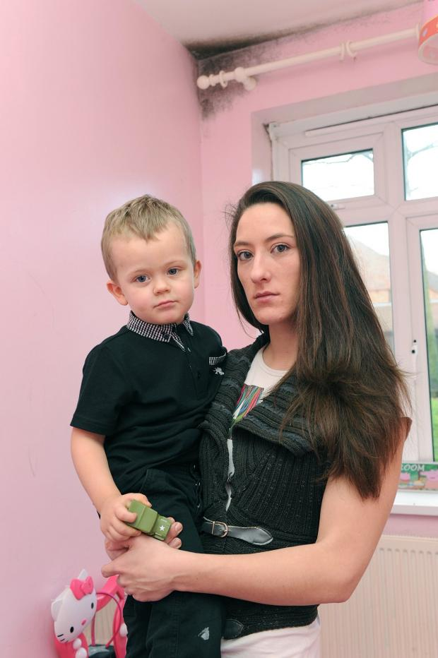 This Is Local London: Victoria Nash with her son Ronnie, 3,