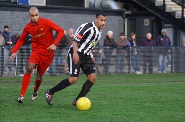 This Is Local London: Must do better: Jordan Wilson, here in his Tooting days, wants his Robins team-mates to cut out the silly mistakes