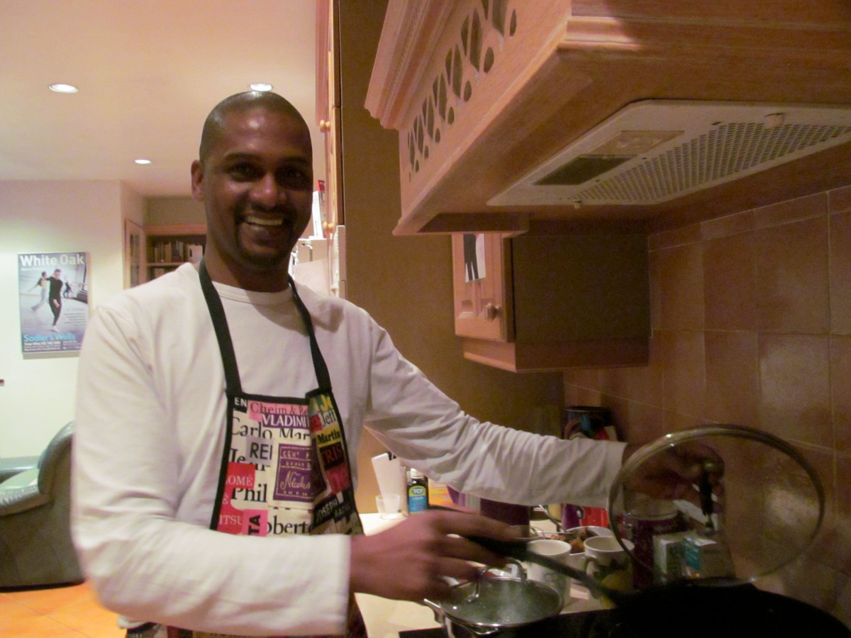 Cooking for charity: Barlow Yacoob