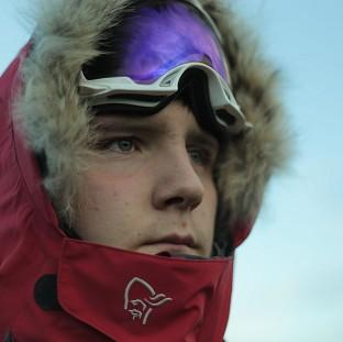 This Is Local London: Lewis Clarke is raising money for youth charity the Prince's Trust on his trek to the South Pole