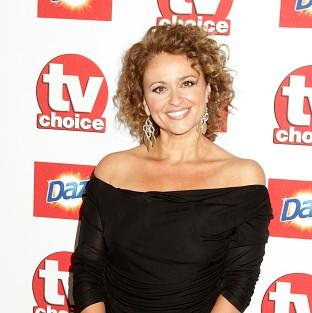 Nadia Sawalha says it is good her daughters understand how TV works