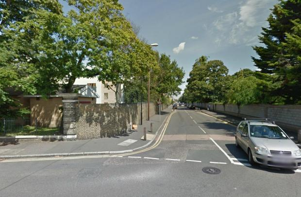 The stabbing happened at the junction of Queens Road and Pawson's Road. Picture: Google
