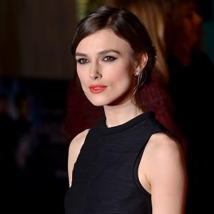 Kiera Knightley arrives at the European film premiere for Jack Ryan: Shadow Recruit at the Vue cinema in London's Leicester Square