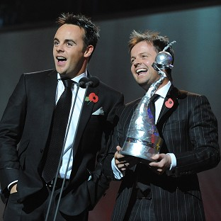 Ant and Dec triumph at TV awards