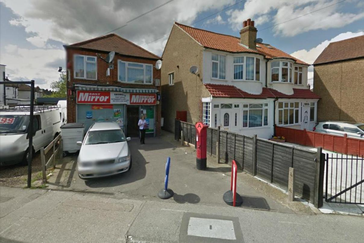 No booze: Tolworth newsagent in Red Lion Road. Image: Google Street View
