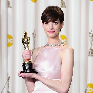 Anne Hathaway won an Oscar for her performance in Les Miserables