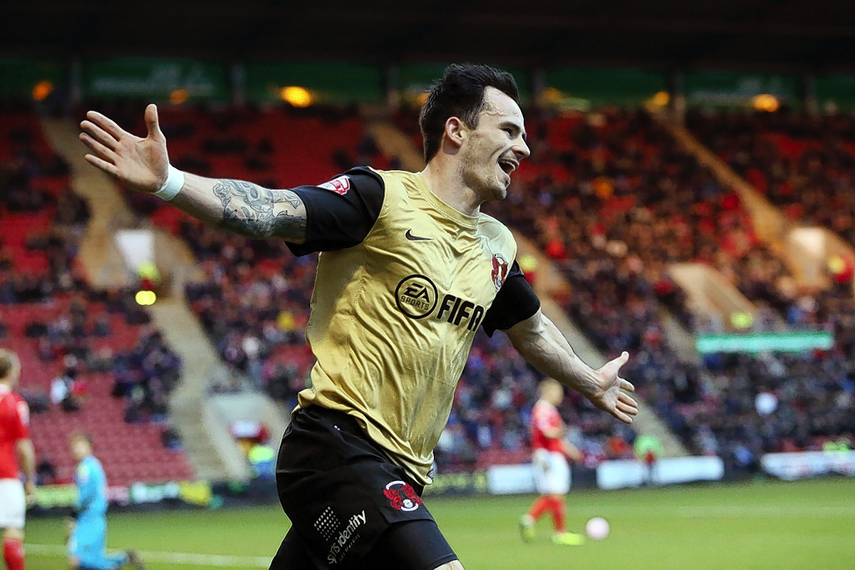Chris Dagnall struck twice on his first start of the season: Simon O'Connor