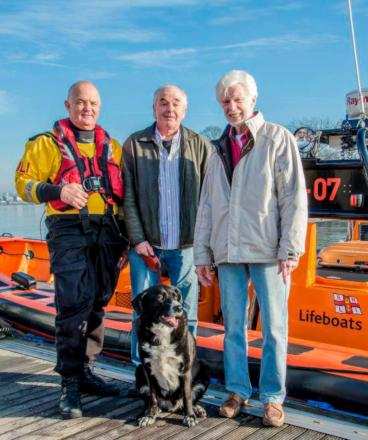 Thanks to the RNLI: Lifesavers yet again