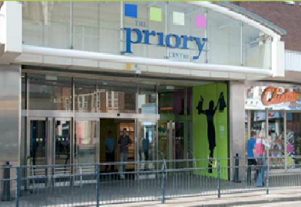 This Is Local London: The Priory Shopping Centre in Dartford.