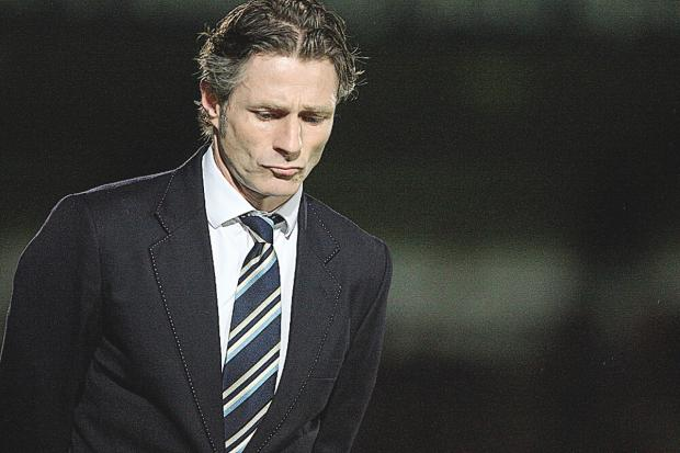 Gareth Ainsworth has come under fire for recent poor results