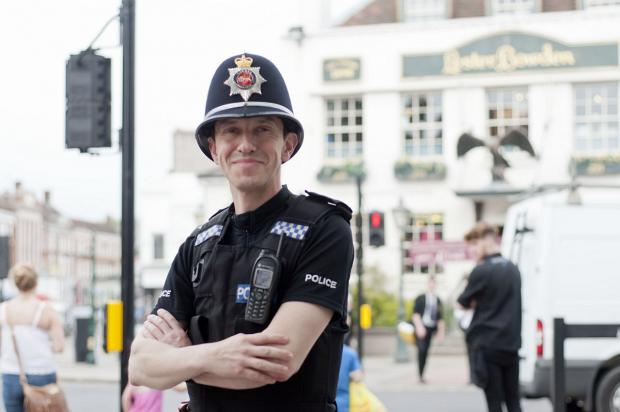 Epsom's Neighbourhood Inspector Craig Knight supports plans to develop an evening economy for Epsom