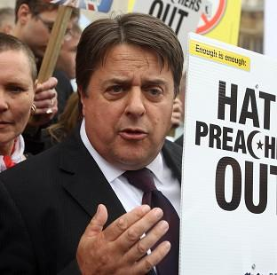 This Is Local London: BNP leader Nick Griffin reportedly has links with Hungarian party Jobbik