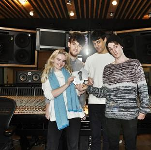 This Is Local London: British group Clean Bandit, who stormed to the top of the singles charts with their dance pop tune Rather Be, featuring Jess Glynne