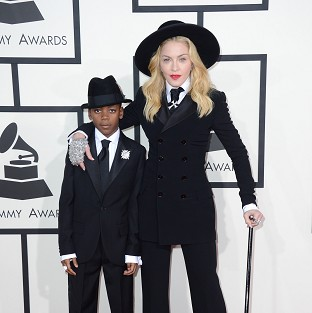 Madonna styled by son for Grammys