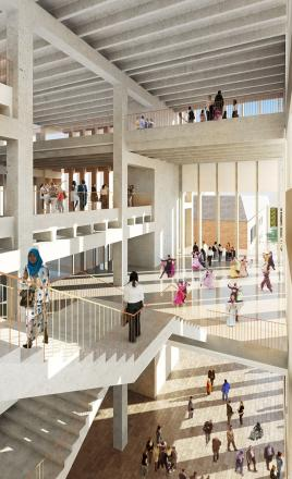 Kingston University says it must get acoustics right on its new £55m 'open plan' town house