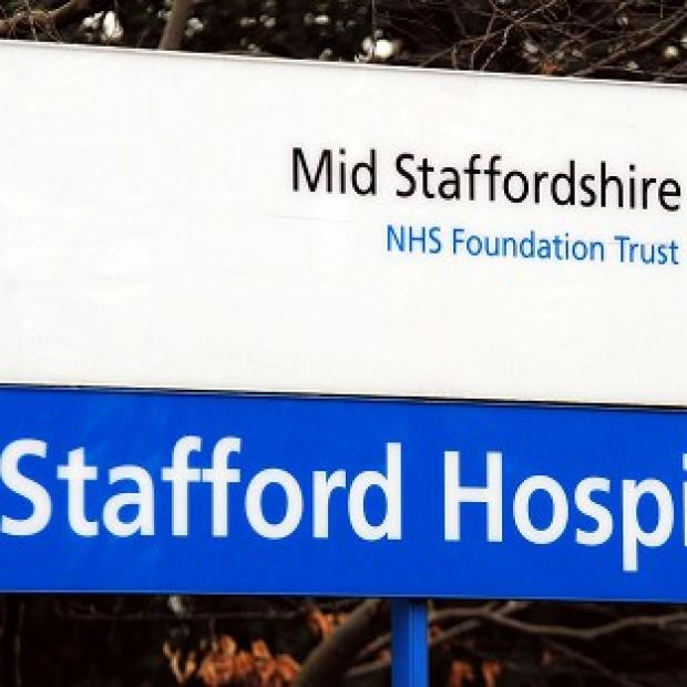 This Is Local London: Stafford General Hospital where an inquiry found failings in standards of care