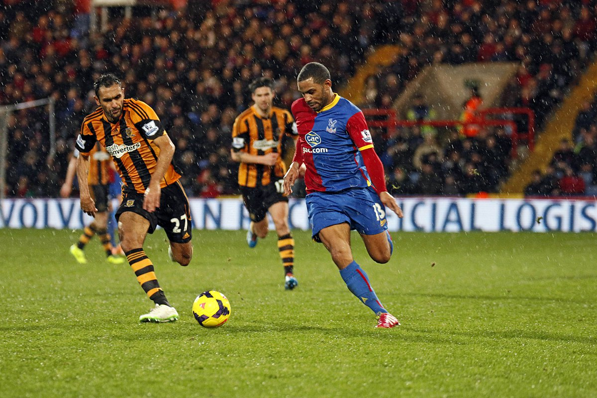 Goal man: Jason Puncheon's third goal of the season sealed the win over Hull City      SP82429