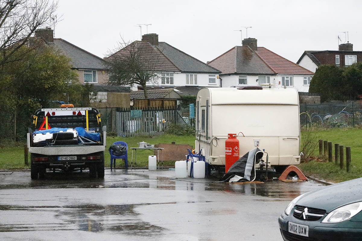 Travellers arrival 'worrying' for park neighbours