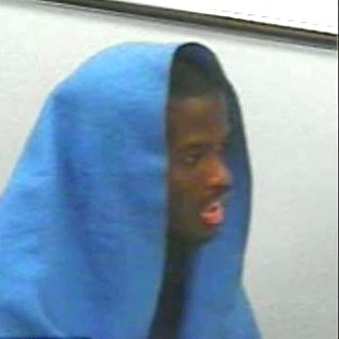 A picture of Michael Adebolajo taken during interviews with police which was shown in court during his trial