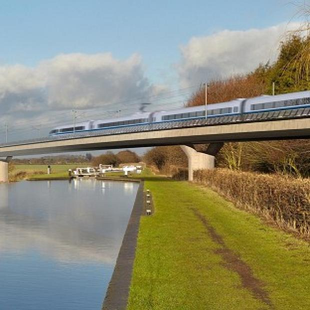 This Is Local London: The Government said it was not in the public interest to make the HS2 report public