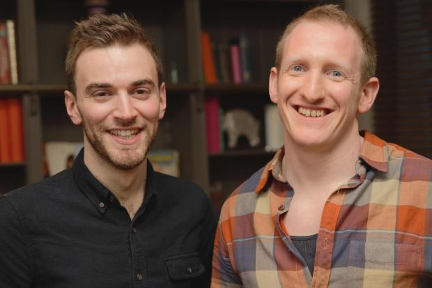 This Is Local London: Jonny Benjamin, left, with Neil