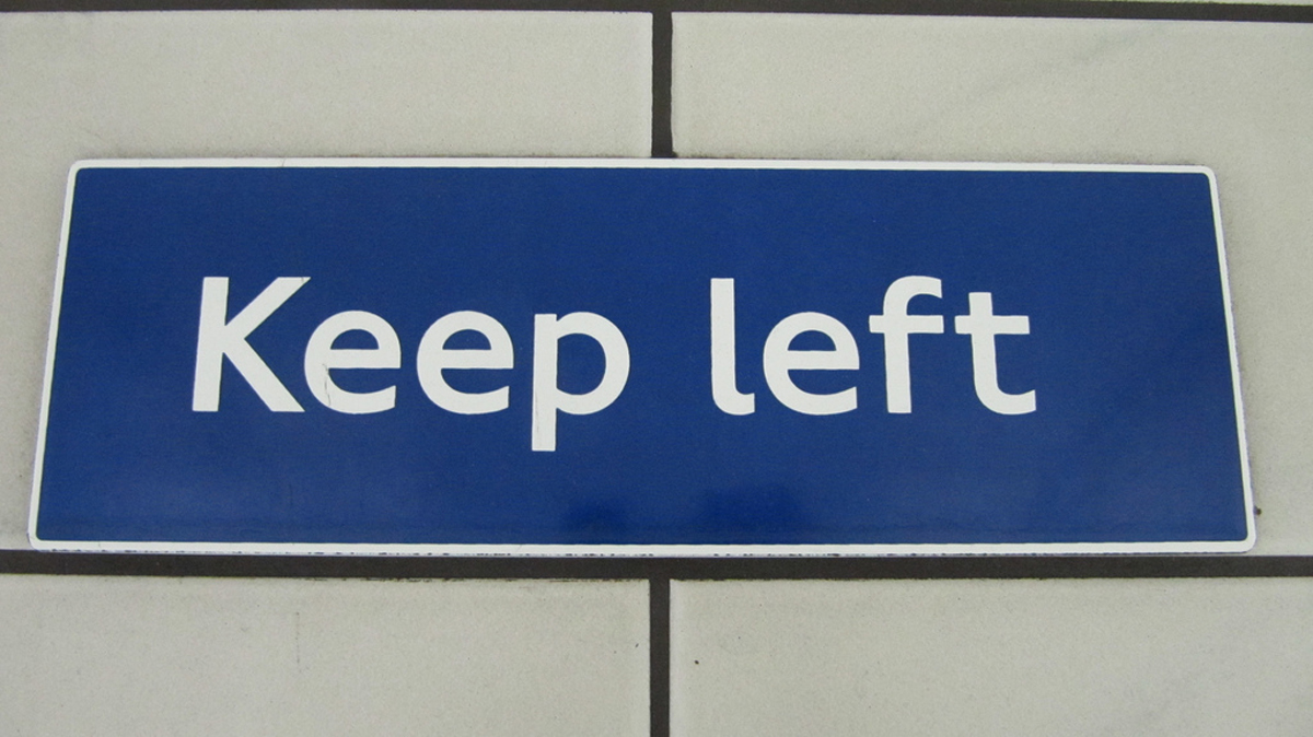 This Is Local London: Keep Left sign