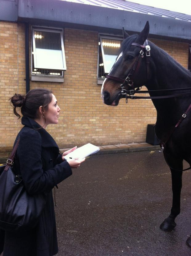 This Is Local London: Sarah Trotter interviewing Excalibur