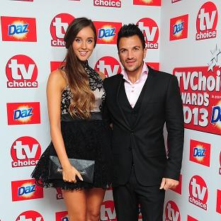Emily MacDonagh and Peter Andre have yet to announce their daughter's name