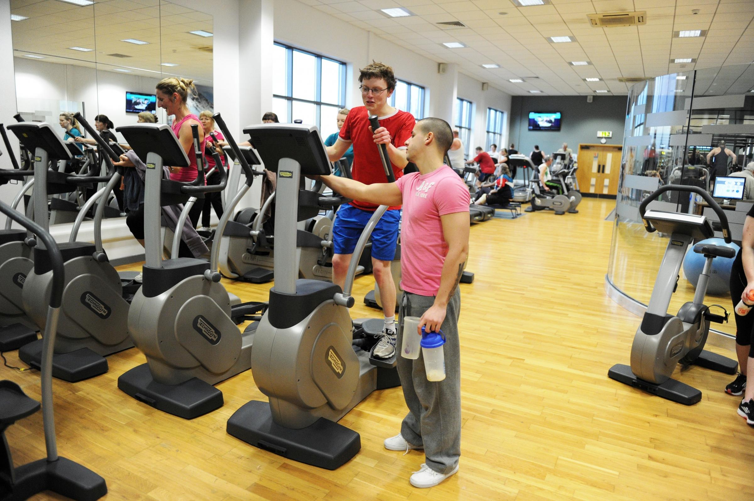 Work up a sweat at gents only fitness classes