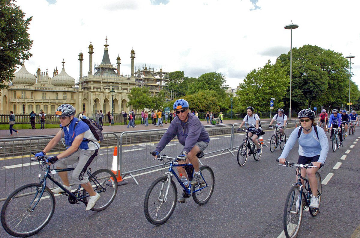 The London to Brighton bike ride will travel through Mitcham this year