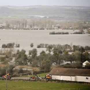 Weather warning for flood-hit areas