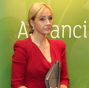 Harry Potter writer JK Rowling