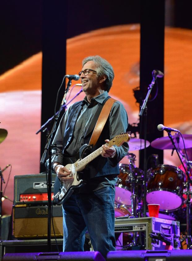 This Is Local London: Eric Clapton is to play in Leeds on Sunday, June 22