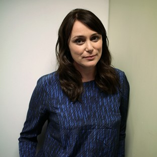 Keeley Hawes said the incident was 'a bit frightening'