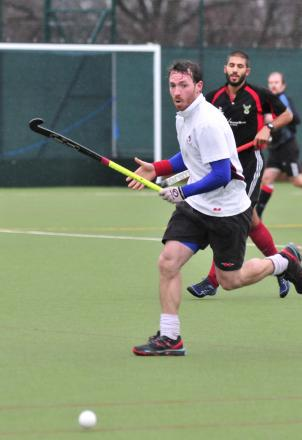 Opener: Oli Hildrey started proceedings against Hamble with the first goal