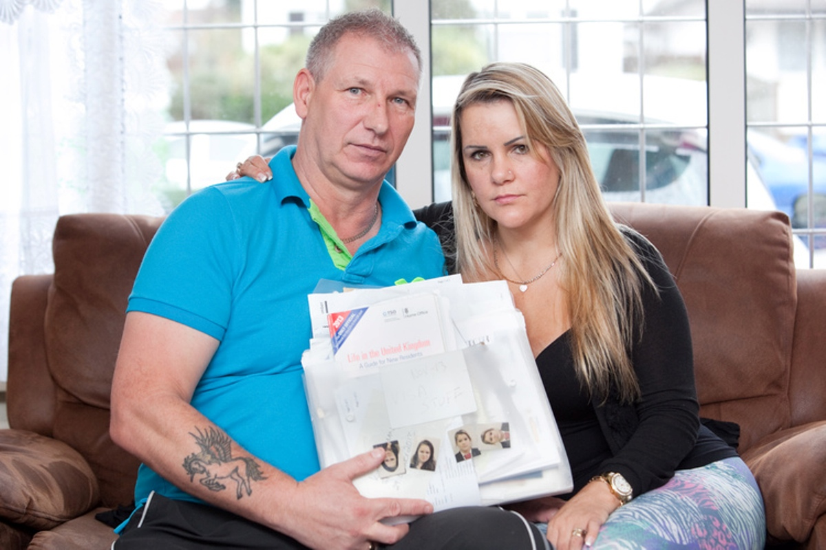 Sidcup couple pushed to brink of divorce over immigration fight