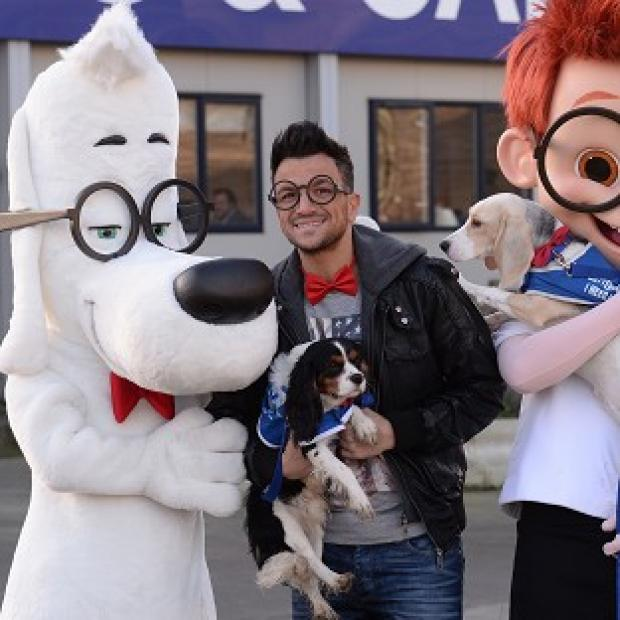This Is Local London: Peter Andre's song is featured in DreamWorks' new animation, Mr Peabody And Sherman
