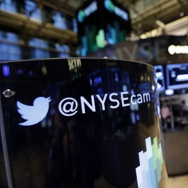 This Is Local London: Twitter's losses have soared, despite a rise in users, according to new figures (AP)
