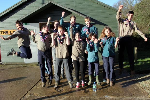 This Is Local London: Jumping for Japan: 12 Enfield scouts selected for Far East venture