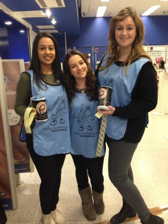 Volunteers at Brent Cross Shopping Centre