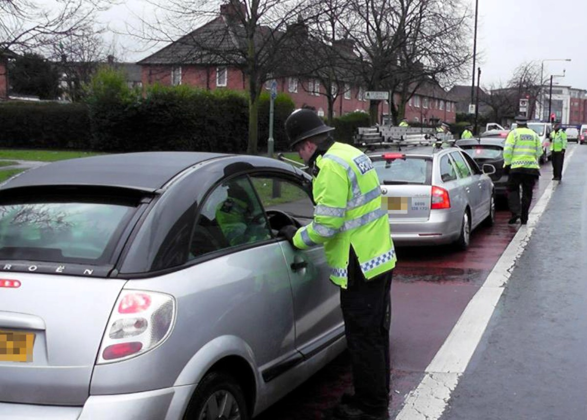 Bromley police cracked down on uninsured drivers