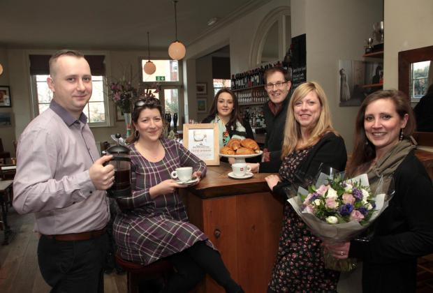 Canbury Arms pub gets ready for coffee morning in aid of Love Kingston