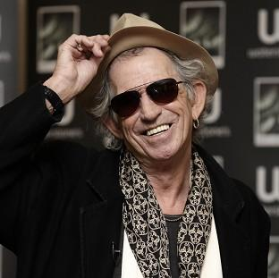 Keith Richards has welcomed his fifth grandchild