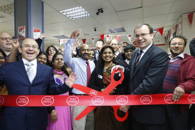 MP opens refurbished Post Office