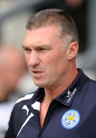 Leicester boss Nigel Pearson. Picture: Action Images