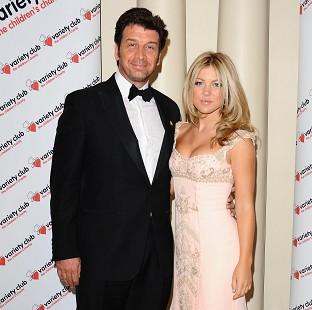 Nick Knowles has been banned from his wife Jessica's bedside when she gives birth later this year