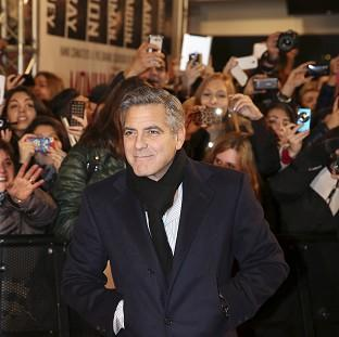 This Is Local London: George Clooney wrote, directed and stars in the Second World War comedy Monuments Men (AP)