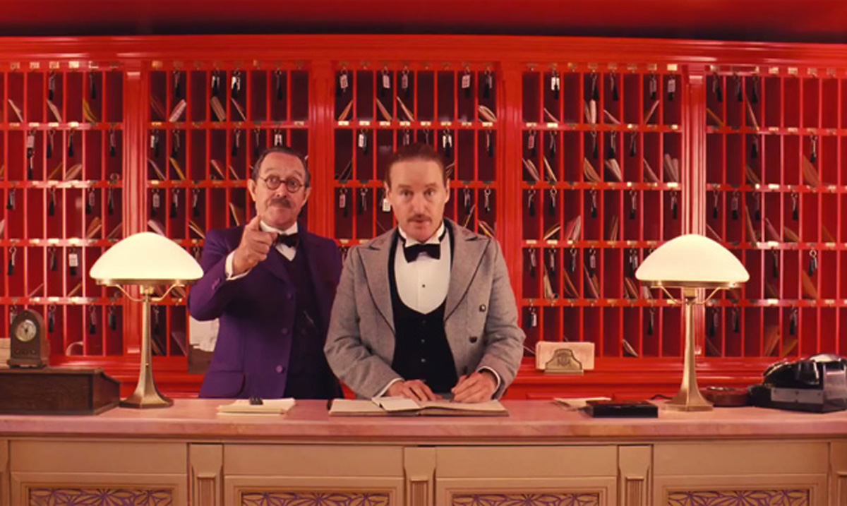 Owen Wilson has a small role in The Grand Budapest Hotel
