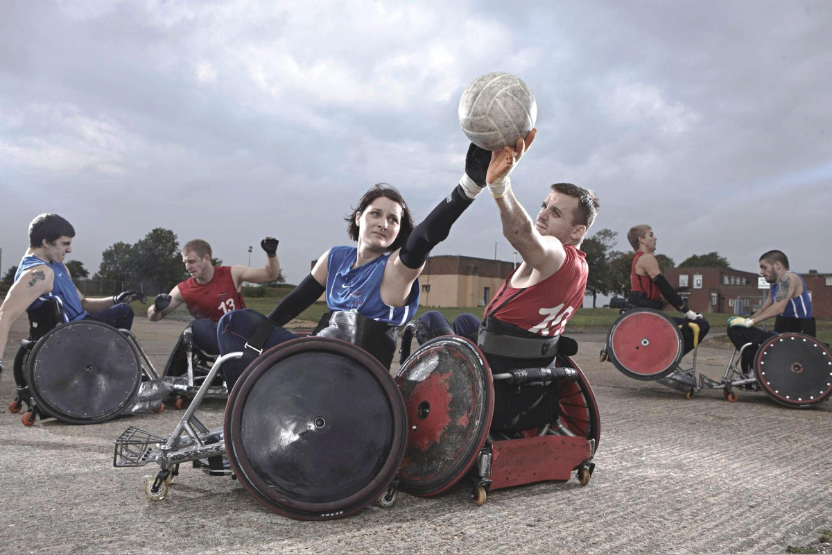 Wheelchair rugby or 'murderball' is coming to Carshalton