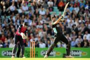Making his name: Alec Stewart has not ruled out Kevin Pietersen playing four-day cricket for Surrey    PA Photos